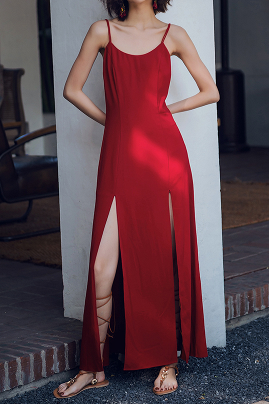 Cortez Low Back Dress