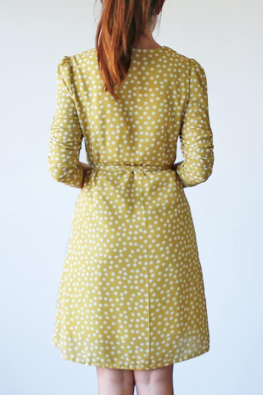 Yuna Wrap Dress